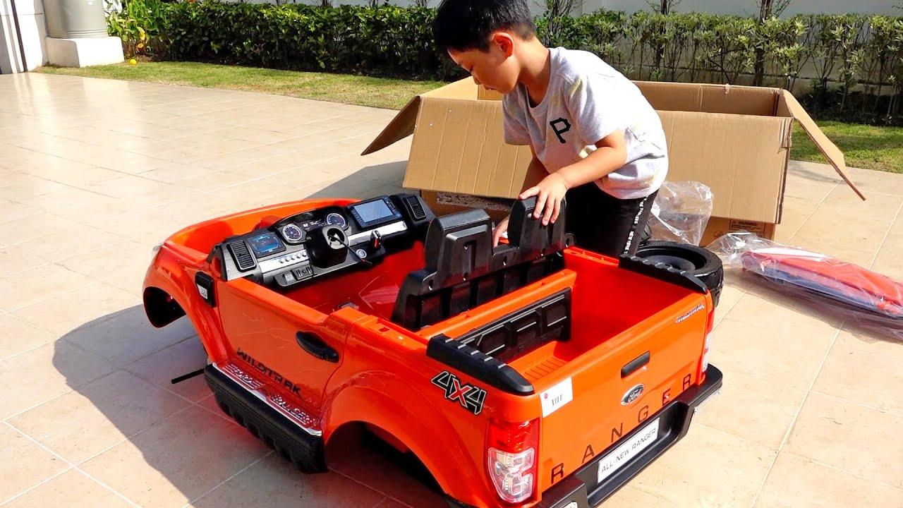 صورة فيديو : Power Wheels Car Toy Assembly Toys Playground Activity