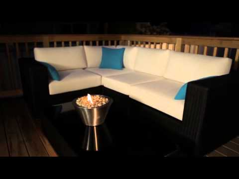 AF  Oasis Model Ventless Fireplace Full HD
