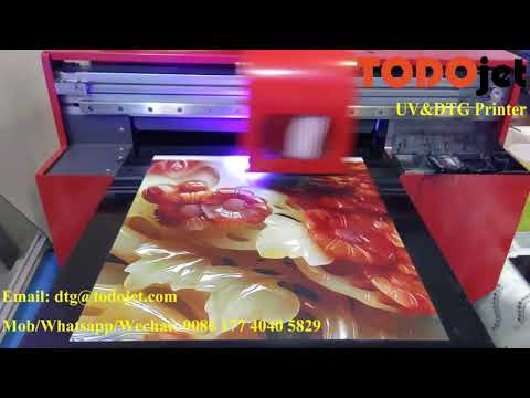 3D Effect UV Fatbed Printer with High Quality
