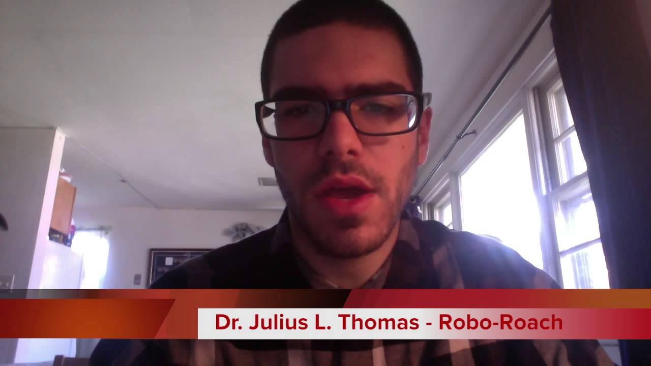 roboroach robot by alex libutti youtube