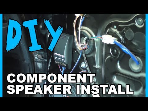 How to Install Component Speakers