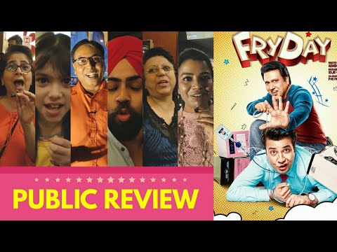 FRYDAY Movie Public Review | First Day First Show | Govinda, Varun Sharma | Full Comedy Film