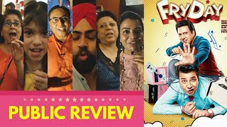 FRYDAY Movie Public Review | First Day First Show | Govinda, Varun Sharma | Full Comedy Film