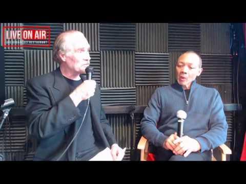 David Zayas and Paul Calderon join Richard in the Broadcast Booth