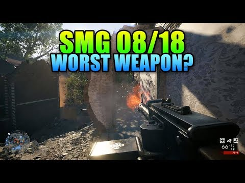 SMG 08/18 Worst Weapon?   Battlefield 1 Unlock Review