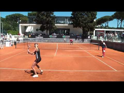MY TENNIS VIDEO | Daniela HANTUCHOVA, Kirsten FLIPKENS, Kim CLIJSTERS
