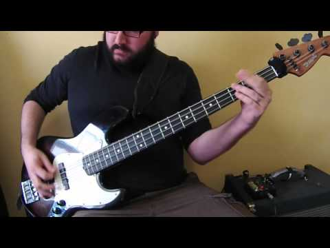 Megadeth - Fatal Illusion (Bass Cover) - Thrash Metal Bass Lesson
