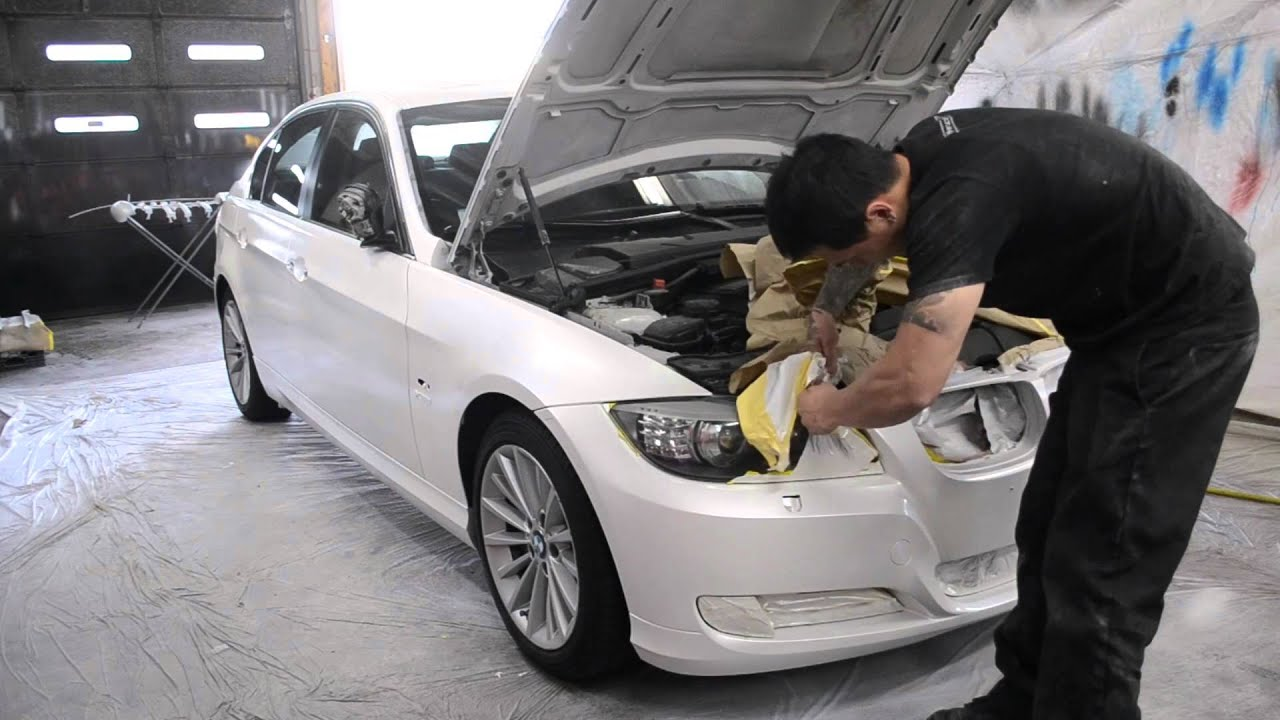 White gloss plasti dip car