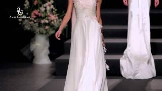 Свадебные платья  Alena Goretskaya fashion show 2012  wedding fashion