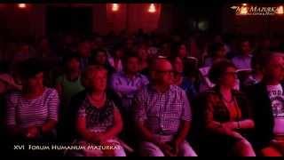 """XVI Forum Humanum Mazurkas-Jerzy Mamcarz-""""Pamiętajcie o ogrodach""""-sł.Jonasz Kofta,muz.JanPietrzak"""