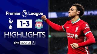 Alexander-Arnold stars as Reds shock Spurs | Tottenham 1-3 Liverpool | Premier League Highlights