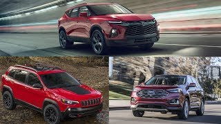 Comparing 2019 Chevy Blazer The Ford Edge and the Jeep Cherokee [Lastest News]