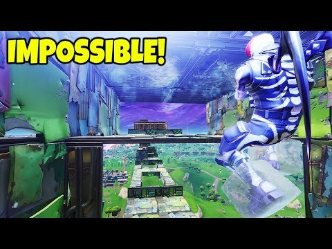 IMPOSSIBLE *NEW* ICE TRAP OBSTACLE COURSE IN FORTNITE PLAYGROUNDS MODE!!