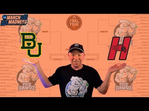Baylor vs Hartford 3/19/21 Free College Basketball Pick and Prediction NCAA Tournament