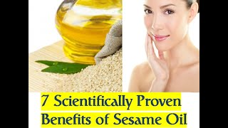 sesame oil for anti aging skin care treatment