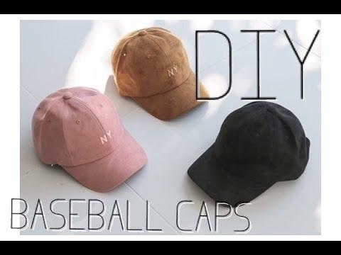 DYE YOUR OWN BASEBALL CAPS! | JAZZMINLAUREN