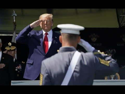President Trump delivers 2020 West Point commencement address
