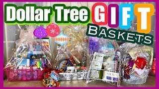 Dollar Tree GIFT BASKET IDEAS