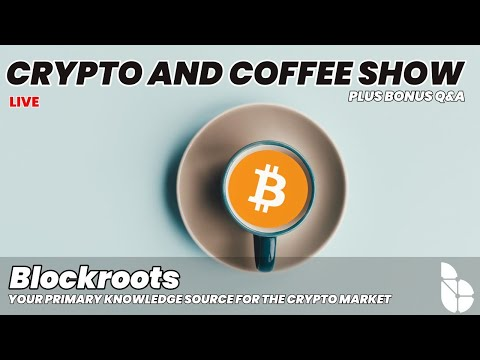 The Crypto and Coffee Show [Crypto Market Analysis, Q&A,  SPECIAL GIVEAWAY EPISODE ]