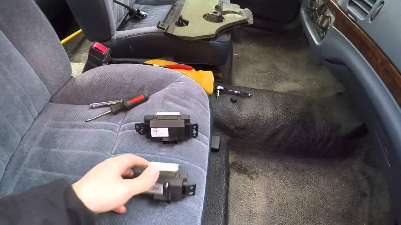 Impala failed blower control module 8th gen w body youtube for Bad blower motor symptoms in hvac