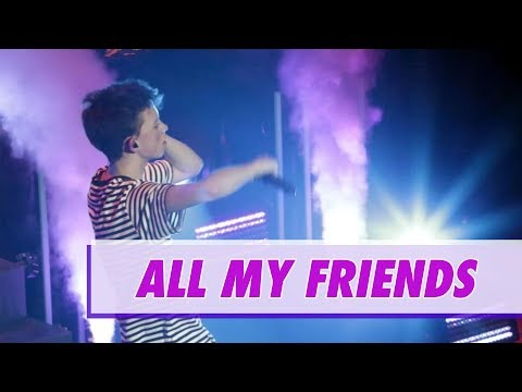 Jacob Sartorius - All My Friends (LIVE)