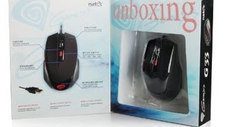 Natec Genesis G33 Wired Gaming Mouse Unboxing And Review