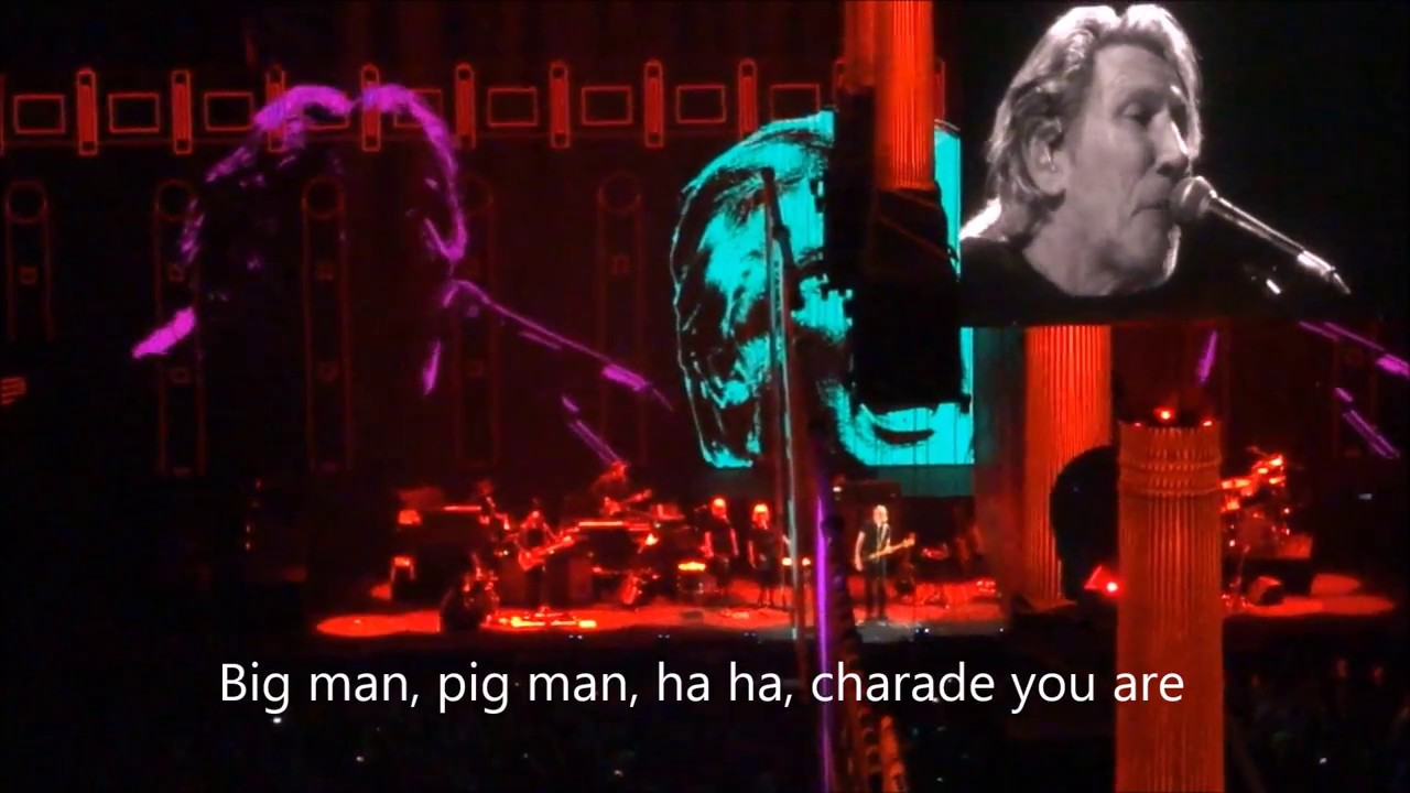 Roger Waters Pigs Wlyrics Trump Quotes Live At Sprint Center Kansas City 2017 05 26