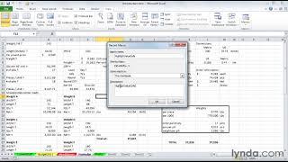 كيفية إنشاء وحدات الماكرو في Excel | lynda.com البرنامج التعليمي