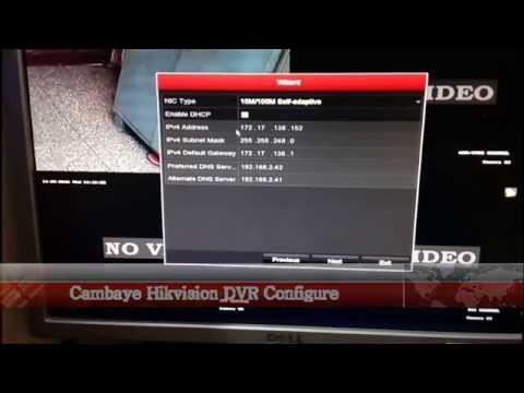 P2P Cloud DVR setup