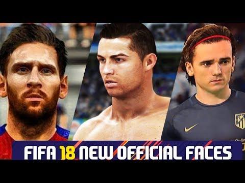 FIFA 18 +53 NEW FACES | FT.RONALDO, MESSI, GRIEZMANN, NEYMAR...etc
