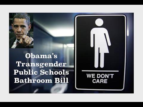Obama's Transgender Bathroom Bill