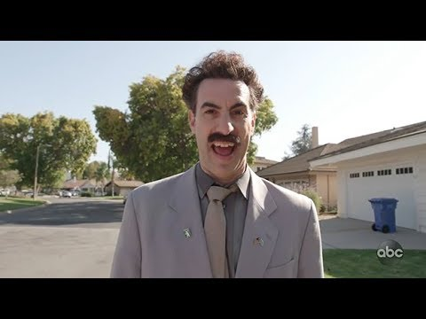 Sacha Baron Cohen brings back Borat to tamper with the US midterms