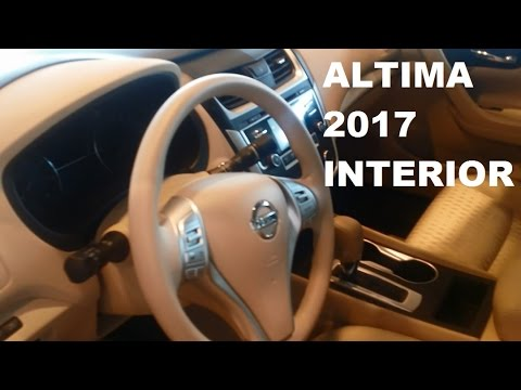 2017 Nissan Altima >> Nissan Altima 2017 - Full Interior - YouTube