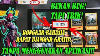 Terbongkar!!! Cara Mendapatkan Diamond Gratis Tanpa Aplikasi - Garena Free Fire
