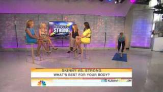 Tanya Zuckerbrot MS, RD on the Today Show - Being Strong vs. Skinny