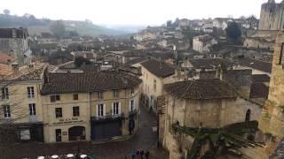 世界遺産のサンテミリオン村