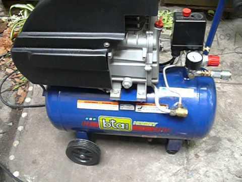 Compresor de aire bta tools tanque 25 litros youtube - Compresor de aire 25 litros ...