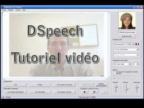 DSpeech - Tutoriel vidéo