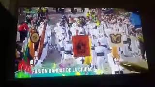 Fusion bandas marciales desfile de silleteros 2018