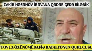 """""""Zakir Həsənov Ermənilər Tovuzda səngər qazanda hara baxırdın"""" Tovuz Özünümüdafiə Komadiri"""