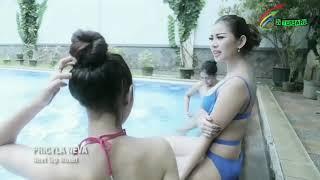 vuclip Miss Indonesia main di kolam pakai bikini