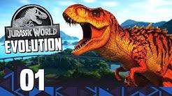 JURASSIC WORLD EVOLUTION! - O Início de Gameplay no PC em Português PT-BR