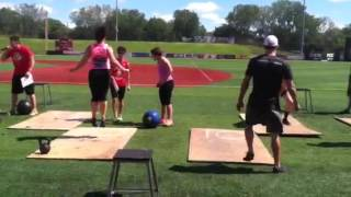 Bridget At The Corn Crib Wod 3