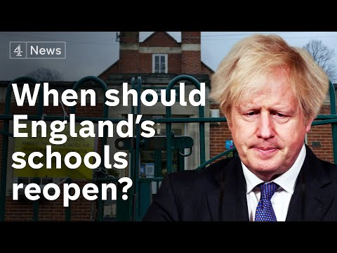 UK PM under pressure to set timetable for England schools reopening
