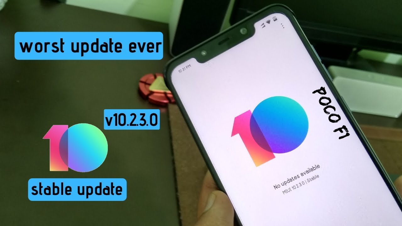 Poco F1 update 10 2 3 0: Widevine L1 certification, 4K video