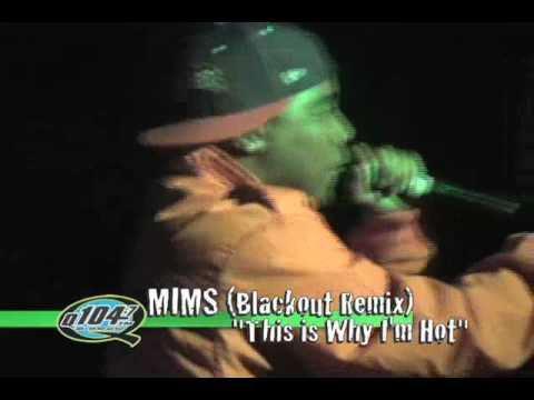 Mims & Yung Berg Performing Live in the 805 with Q104.7!!