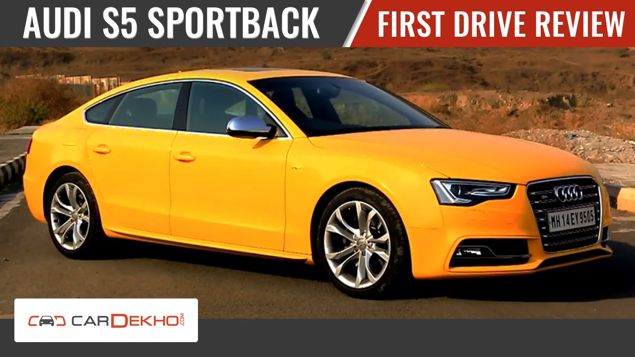 audi s5 sportback first drive review youtube. Black Bedroom Furniture Sets. Home Design Ideas