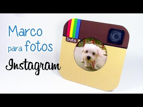 Manualidades: MARCO para FOTOS Instagram - Innova Manualidades