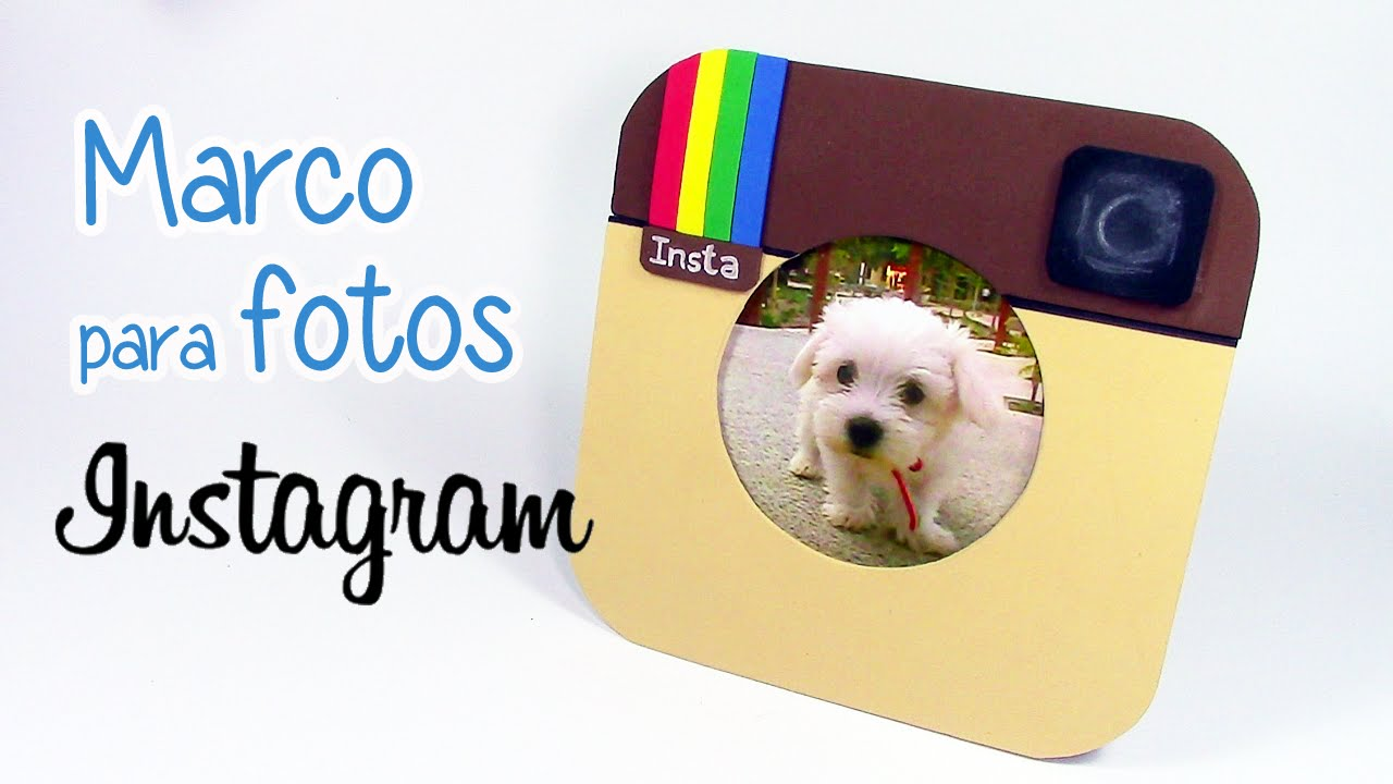 Manualidades marco para fotos instagram innova - Marcos fotos manualidades ...