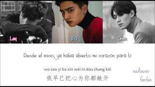EXO - My Answer (我的答案) Chinese Version [ Sub Español /Pinyin/Chinese] (Color Coded)